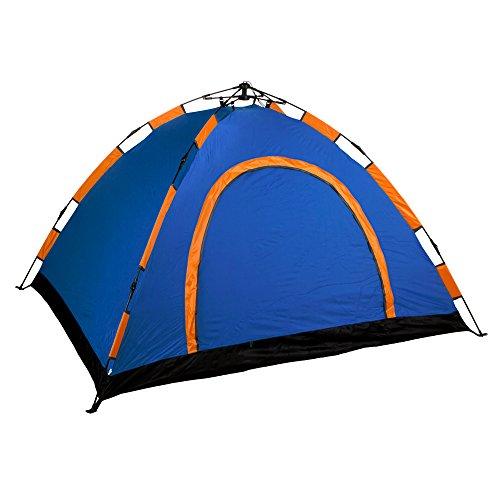 Aktive - Tienda Camping iglú para 4 personas, auto montable