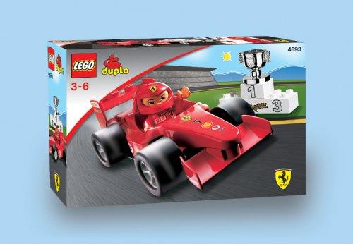 LEGO Duplo 4693 - Ville Ferrari Rennwagen