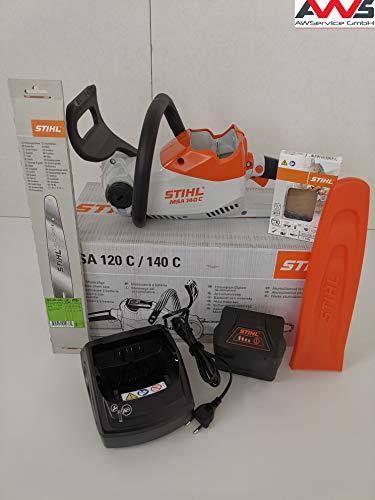 STIHL 12540115850 - Motosega MSA 140 C, con batteria AK30 e caricatore AL101