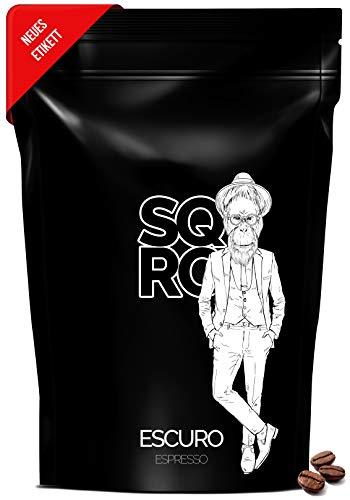 ESCURO Espressobohnen säurearm 250g | 100% Arabica Kaffeebohnen Single Origin (Brasilien, Sul de Minas) | Aromaprofil: Kakao, Walnuss, Rohrzucker | geeignet für Vollautomat, Espressomaschine und Siebträger