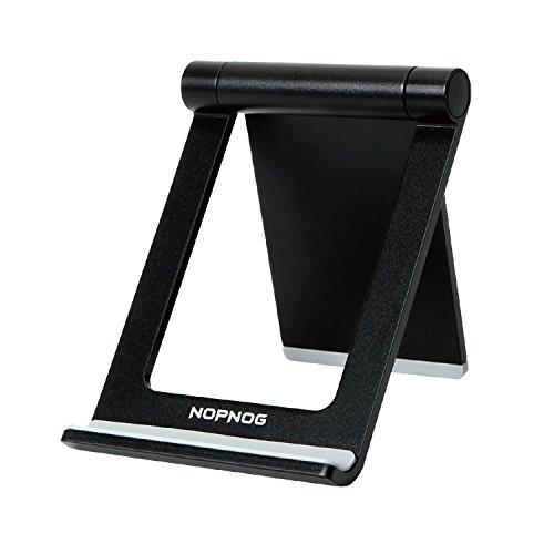NOPNOG teléfono Celular Soporte para Escritorio Ligero de múltiples ángulos Ajustable Soporte de Montaje para iPhone 7, 7plus, 6 6 más Samsung Galaxy S7/S8 Google Nexus, Lumia, Tablet iPad