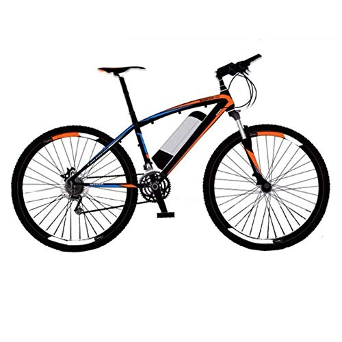 Lamyanran Fast Electric Bikes for Adults High Carbon Steel Ebikes Bicycles All Terrain Removable Lithium-Ion Battery Mountain Ebike for Outdoor Cycling Travel Work Out and Commuting