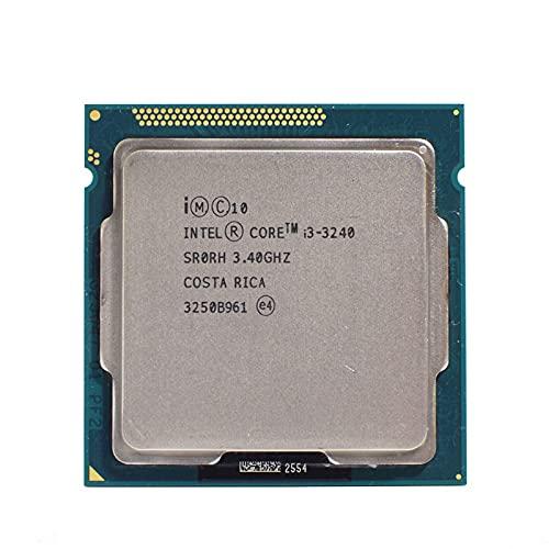 Intel I3 3240 Dual-Core 3.4GHz LGA 1155 TDP 55W 3MB Cache i3-3240 CPU Processor Desktop