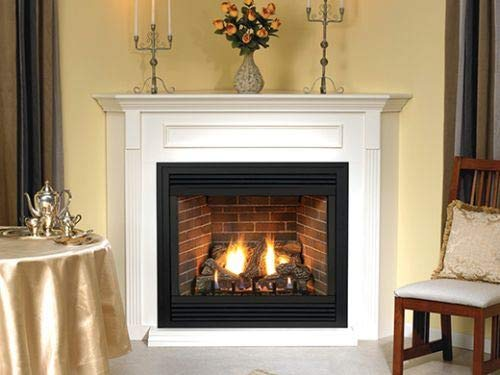 "Empire Comfort Systems Premium 36"" Direct-Vent NG Millivolt Control Fireplace with Blower"