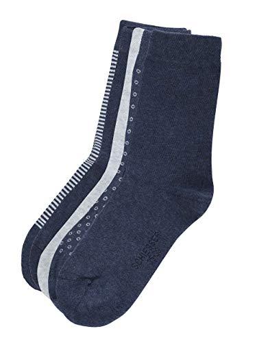 Schiesser Damen Damen (5PACK)  Matt Fein Socken,  Mehrfarbig (Sortiert 1 901),  39/42 ( Herstellergröße: 403) (5er Pack)