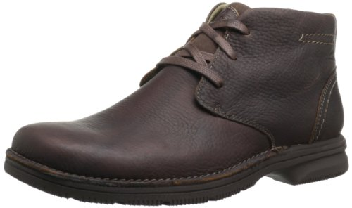 Hot Sale Clarks Men's Senner Ave Boot,Brown Tumbled Leather,11.5 M US