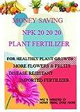MONEY SAVING, Water Soluble NPK 20-20-20 Plant Fertilizer Good for Plant Health, Plant