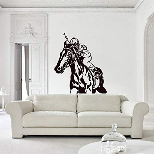 rvz2780 Wall Decal Sticker Mooi paard dier polo game Play slaapkamer
