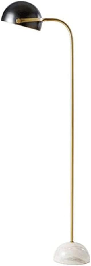 VREF Max 59% OFF Floor Lamp LED Standing Charlotte Mall Anti Modern Marble Lamps