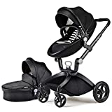 Pushchair Stroller Pram Push Chair Buggy Baby Carrier Trio Set 3 in 1 Infant UK