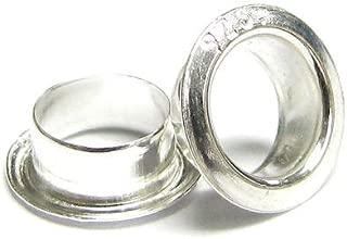 10pcs .925 Sterling Silver Grommet Eyelet Rivet For Glass Bead 3mm 4mm 5mm/Findings/Bright
