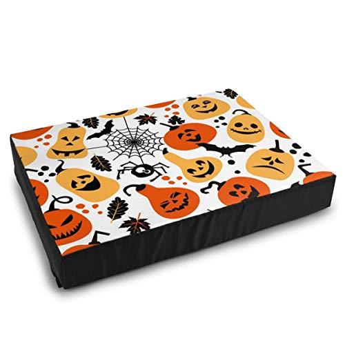 YAGEAD Camas Mascotas Fondo Halloween Calabazas alegres