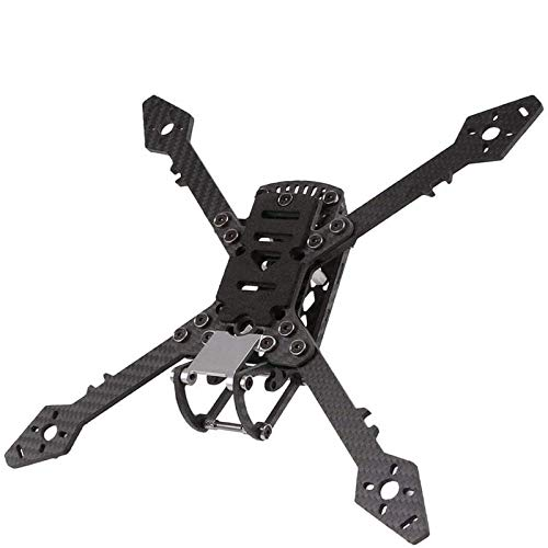 Hootracker 250mm FPV Racing Drone Frame with 4mm Arms, True X Freestyl Carbon Fiber Quadcopter Frame with Lipo Battery Straps for 2205 2206 2306 2307 Brushless Motor
