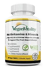 Vegane Multivitamine