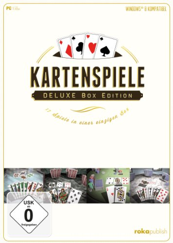 Kartenspiele – Deluxe Box Edition 17 in 1