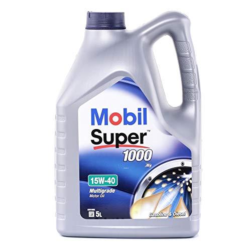 Mobil 1 Motoröl Super 1000 X1 15W-40 Multigrade Motor Oil Engine 150867 5L