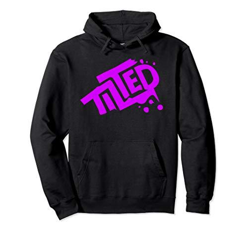 Fortnite Tilted Hoodie (Pink Logo)