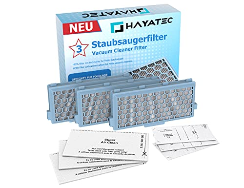 Hayatec -   3x Hepa Filter für