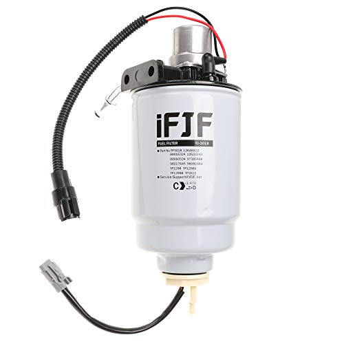 iFJF 12642623 Fuel Filter Head for Duramax Fuel Filter Housing 6.6 Replacement for GM Chevrolet GMC Duramax V8 6.6L Lb7 Fuel Filter Housing 2004-2013 (Assembly)