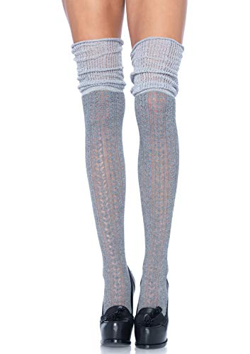 Leg Avenue Damen Socken-690622025 Socken, grau, One Size