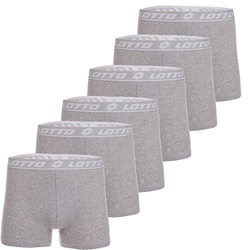 Pignolo Lotto Unterhosen für Herren | 2/3/4/6/9er-Pack | in den Größen: M L XL XXL | in den Farben : Schwarz Grau Blau Anthrazite