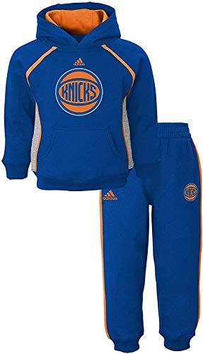 Outerstuff NBA New York Knicks Blue Kids 4-7 Classic Fan Fleece Hoodie and Pants Set (5/6)