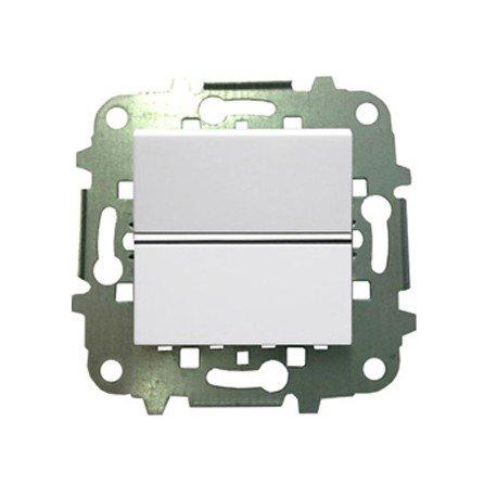 Niessen zenit - Interruptor bipolar 2 módulos zenit blanco