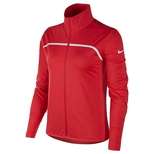 Nike W Nk Rpl Jkt FZ, Giacca da Tuta Donna, Rosa (Rosa Tropical 691), L