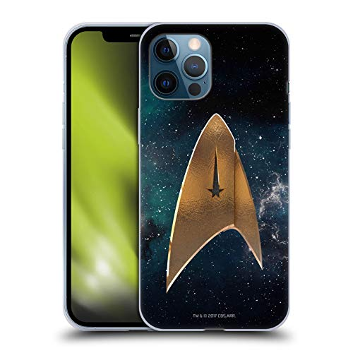 Head Case Designs Officially Licensed Star Trek Discovery Delta Logo Soft Gel Case Compatible with Apple iPhone 12 Pro Max