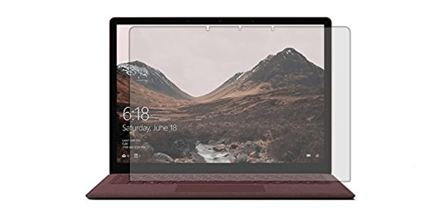 PcProfessional (Set of 2) for Microsoft Surface Laptop Surface Laptop 2 Screen Protector 13.5
