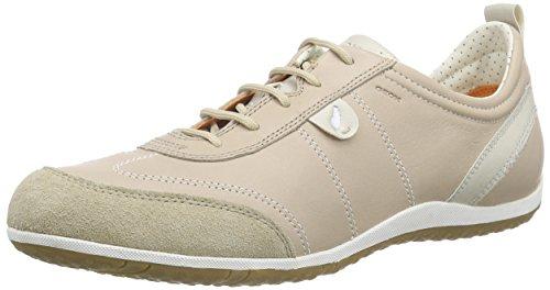 Geox D Vega 322, Zapatillas para Mujer, Beige (Lt Taupe), 39 EU