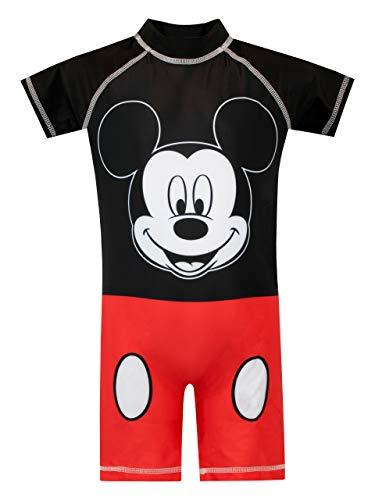 Disney Jungen Mickey Mouse Badeanzug Rot 116