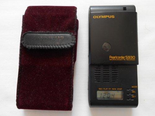 Olympus Pearlcorder S930 Diktiergerät für Microcassette