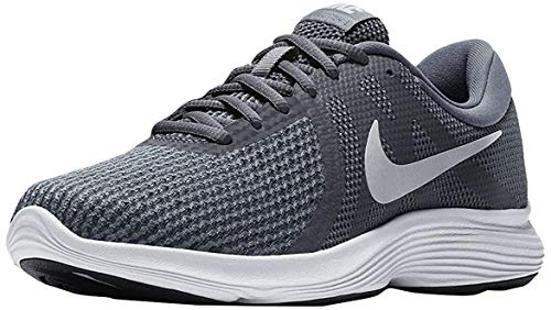Nike Damen WMNS Revolution 4 EU Sneakers, Mehrfarbig (Dark Grey/Pure Platinum/Cool Grey/White 001), 40