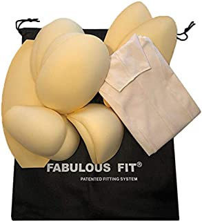 Fabulous Fit Dress Form Fitting System Basics | Essential Shaping System and Princess Cover. Available in Every Size! Bring Any Dress Form to Life! (Natural, Large)