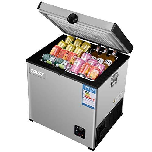 JDLP 55L Haushalt Kühlschrank Für Privatanwender Gefrierschrank Kühlschrank für Gewerbe Horizontal Gefrierschrank Single Door Getränke Kühlschrank BD-55