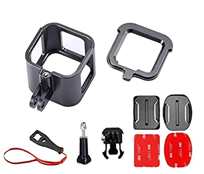 RAXPY Combination of Waterproof Housing and Frame(Plastic), Only Housing(Plastic), Frame(Aluminum) for GoPro Session 4, Session 5 from Raxpy