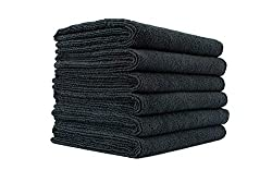 """commercial The Rag Company (6 packs 16 """"x 27"""", spa, gym, yoga, exercise, fitness, sports, training… cheap gym towels"""