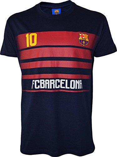 Fc Barcelone T-Shirt Barça - Lionel Messi - Collection Officielle Taille Adulte Homme XXL