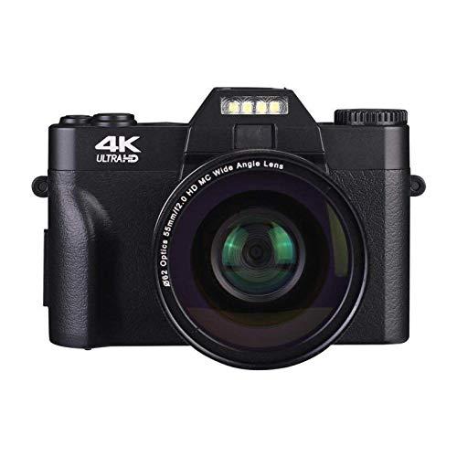 xiaoxioaguo Fotocamera Digitale HD 4K Viaggio Piccolo Mirrorless Entry-level SLR Student Camera