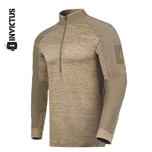 Combat Shirt Invictus Hawk - Caqui - G
