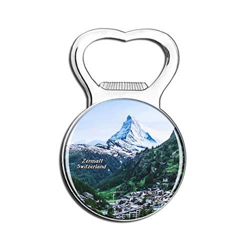 Weekino Schweiz Das Matterhorn Zermatt Kühlschrankmagnet Bier Flaschenöffner Stadt Reise Souvenir Sammlung Starker Kühlschrankaufkleber