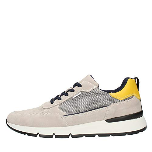 Nero Giardini Sneaker in camosio e Tessuto Uomo Nuvola 44 Taglia Europea : 44