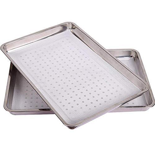 ZXL Siliconen Vierkante Steamer Mesh Matte Niet Stick Ronde Dumpling Keuken Bakplaat Tool 50 * 70cm