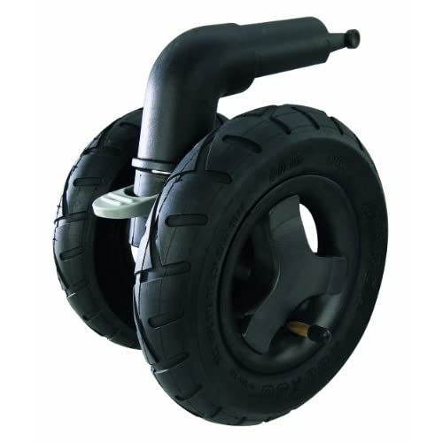 Quinny 70906080 - Forcella 3 ruote gonfiabili per passeggino Quinny Buzz/ Buzz Xtra, nero