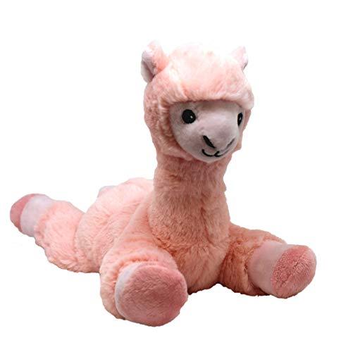 Warmies Mini Lama pink - Wärmekissen mit herausnehmbarer Hirse Lavendelfüllung ca. 25cm