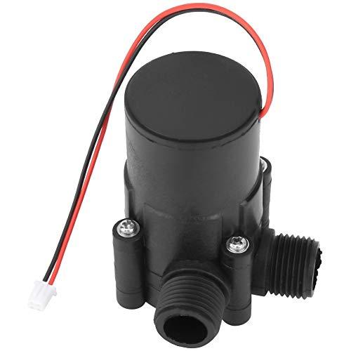 Generador de Energía de Agua - Mini Tubo Generador Hidráulico de CC for Fuente de Alimentación de Carga 12V 3.5W (tamaño : L)