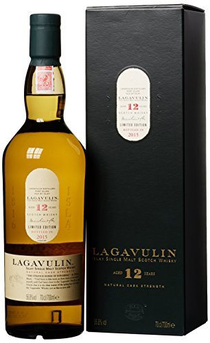 Lagavulin Single Malt 12 Years Old Natural Cask Strength (1 x 0.7 l)