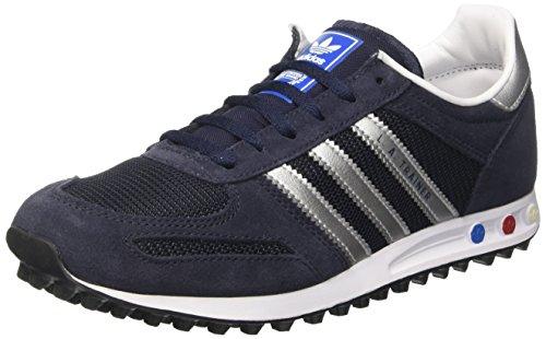 adidas LA Trainer Junior Sneaker a collo basso Unisex – Bambini, Blu (Leg/Silv), 39 1/3 EU