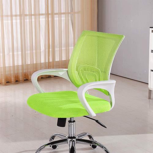 Sillas de juego, silla de oficina para juegos de oficina con rotación 360, diseño ergonómico adecuado para relajarse, juegos de carreras (color naranja)